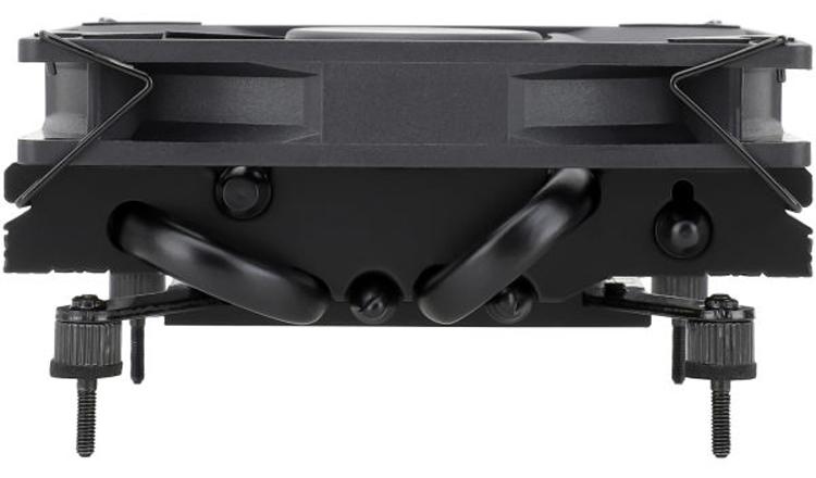 Thermalright представила компактный кулер AXP90-X36 Black с четырьмя тепловыми трубками