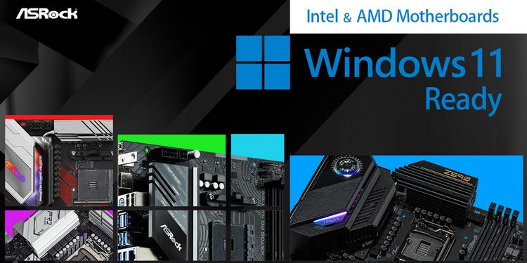 """ASRock рассказала, какие её материнские платы готовы к установке Windows 11"""""""