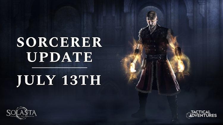 Со следующим патчем в тактической ролевой игре Solasta: Crown of the Magister появится класс волшебника и перевод на русский