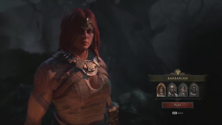 Женщина-варвар, источник изображения: Blizzard Entertainment