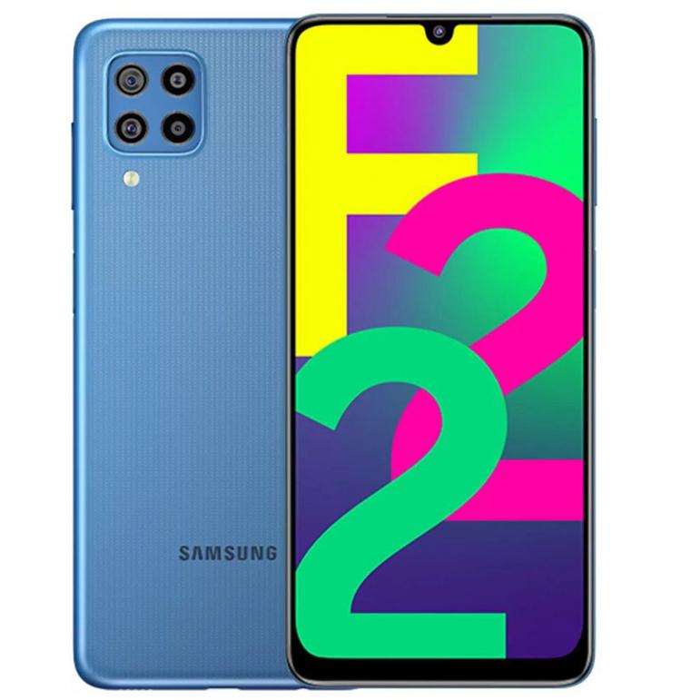 Samsung представила недорогой смартфон Galaxy F22 с квадрокамерой и большой батареей