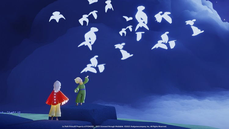 В Sky: Children of the Light начался кроссовер с «Маленьким принцем», а количество загрузок игры превысило 100 млн
