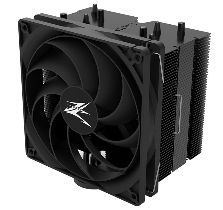 Видеообзор кулера Zalman CNPS10X Performa Black с мощным 135-мм вентилятором