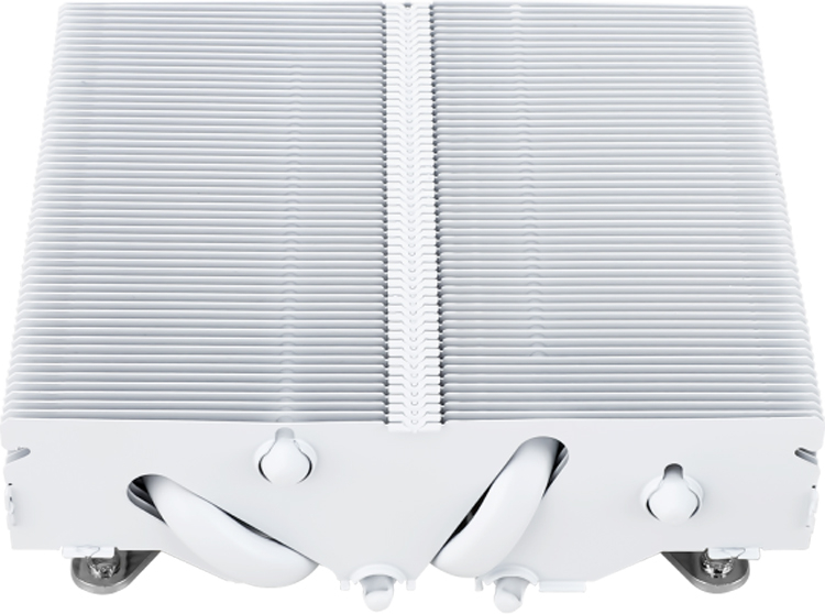 Кулер Thermalright AXP90-X47 White полностью выполнен в белом цвете