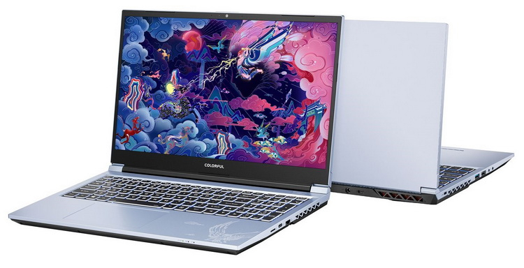 Colorful выпустила свой первый ноутбук — он получил восьмиядерный Core i7 и графику GeForce RTX 3060