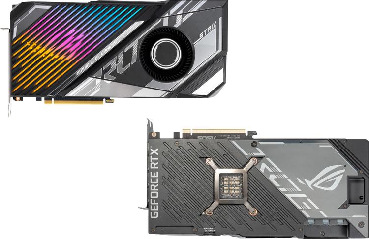 ASUS представила GeForce RTX 3080 Ti с мощной гибридной СЖО и заводским разгоном