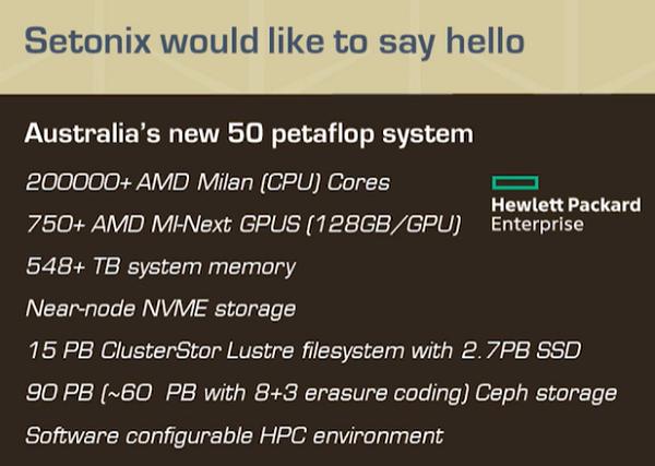 Основой Setonix станут решения