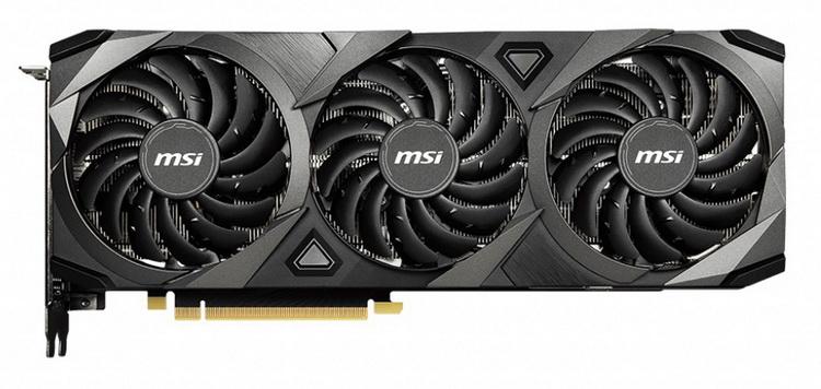MSI представила GeForce RTX 3080 VENTUS 3X 10G LHR с ограничителем майнинга