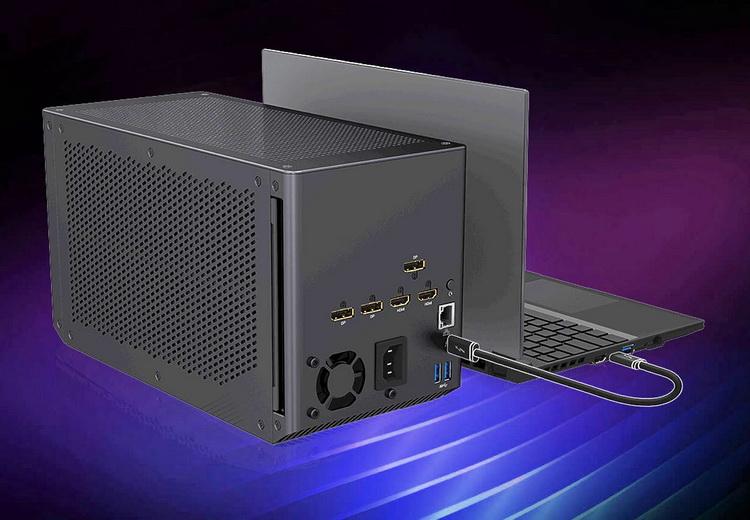 Gigabyte выпустит внешнюю видеокарту GeForce RTX 3080 TiAorus Gaming Box
