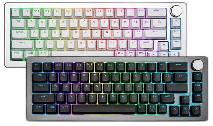 Cooler Master представила беспроводную механическую клавиатуру CK721