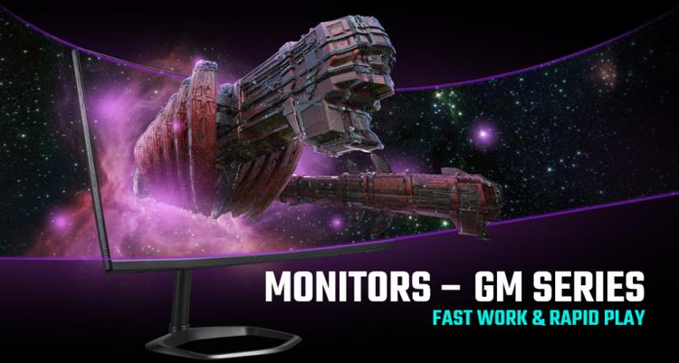 Cooler Master представила игровые мониторы с диагональю до 34 дюймов, разрешением до 1440p и частотой до 240 Гц