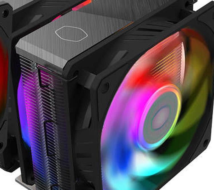 Cooler Master представила кулеры Hyper H6 и H6DT с эффектной подсветкой