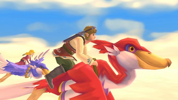 В ремастере The Legend of Zelda: Skyward Sword появится возможность свободно вращать камеру вокруг Линка