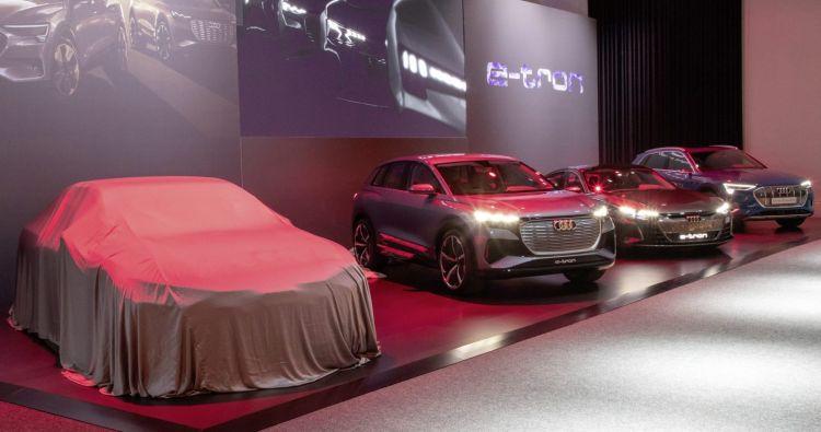 Audi продемонстрирует своего конкурента Tesla в сентябре этого года