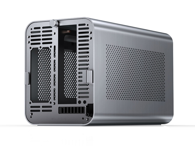 Представлен компактный корпус Jonsbo N1 с поддержкой до шести SSD и HDD