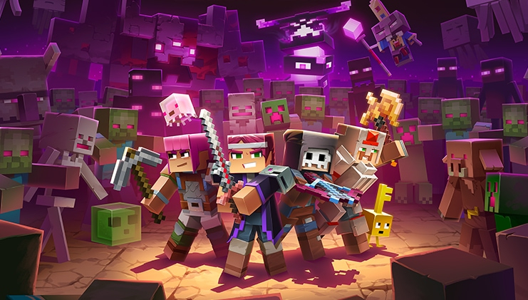 В конце месяца Minecraft Dungeons получит новое дополнение, бесплатный контент и полное издание
