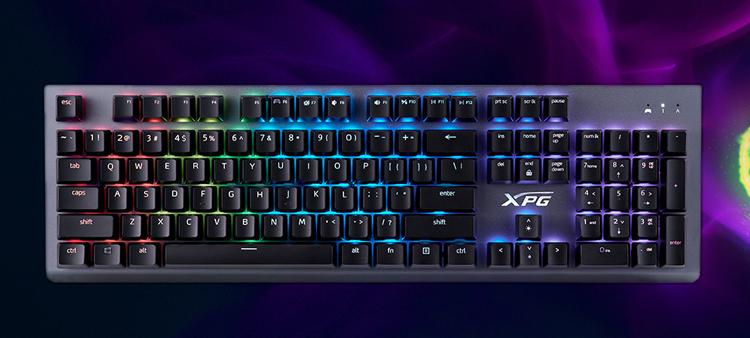 Представлена игровая клавиатура XPG Mage с механическими переключателями