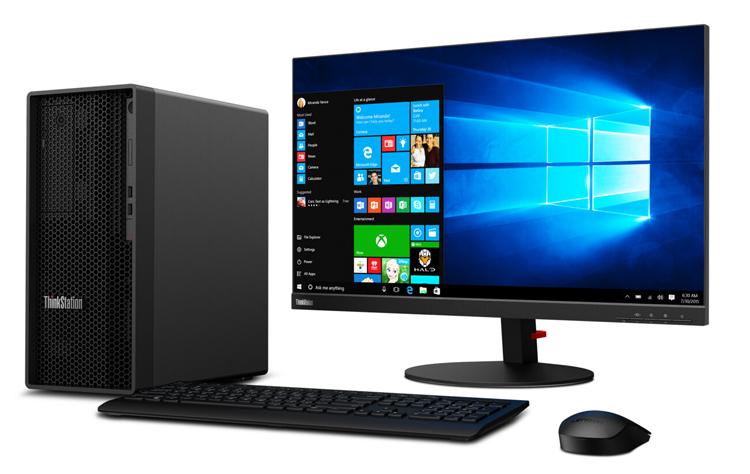 Lenovo анонсировала десктопы ThinkStation P350 Tower и SFF с мощной начинкой— вплоть до Xeon W и RTXA5000