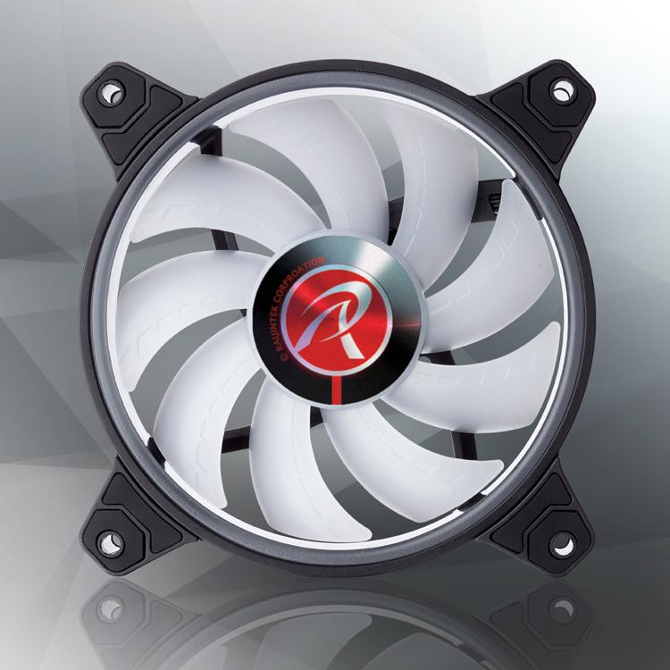 Raijintek представила вентилятор Sklera II 12 RBW ADD с яркой подсветкой