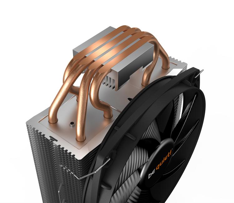 Недорого кулер be quiet! Shadow Rock Slim 2 подойдёт большинству современных процессоров Intel и AMD