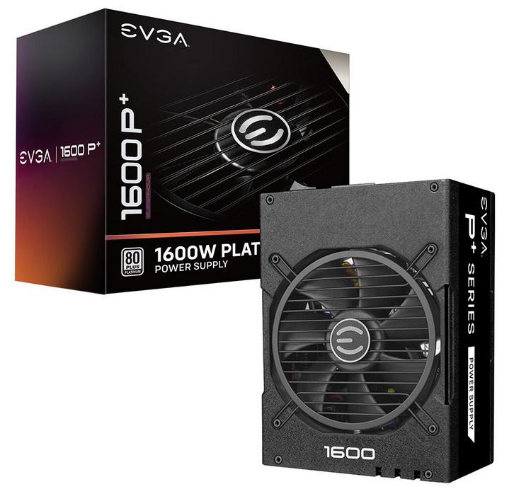 EVGA представила блоки питания SuperNOVA P+ мощностью до 1600 Вт