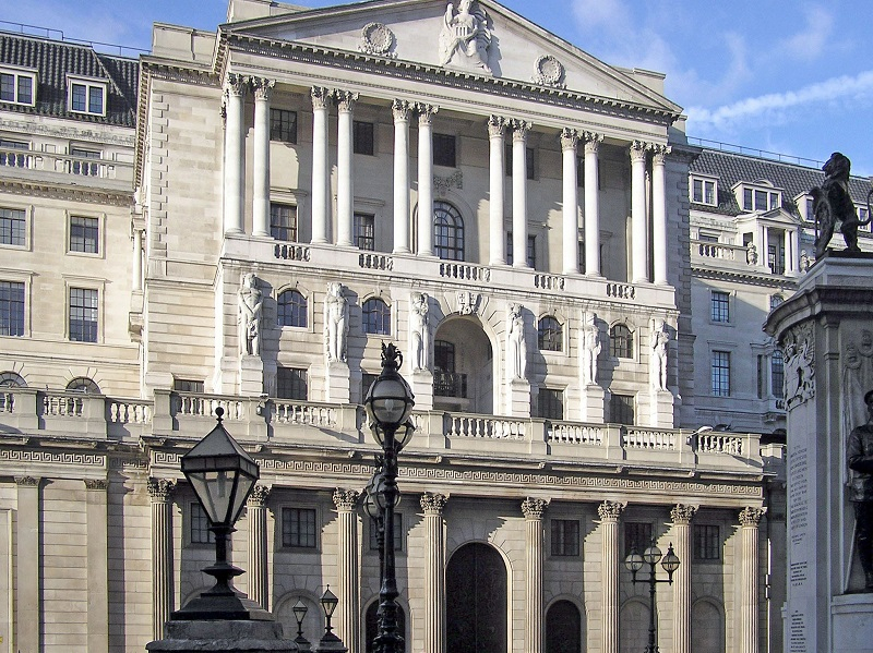 Банк Англии. Фото: Adrian Pingstone / Wikipedia