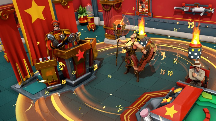 Для злодейской стратегии Evil Genius 2 выпустили бесплатное дополнение с Поджигателем из Team Fortress 2
