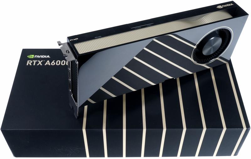 NVIDIA RTX A6000: архитектура Ampere, под условия Hardware Grant Programme подходит