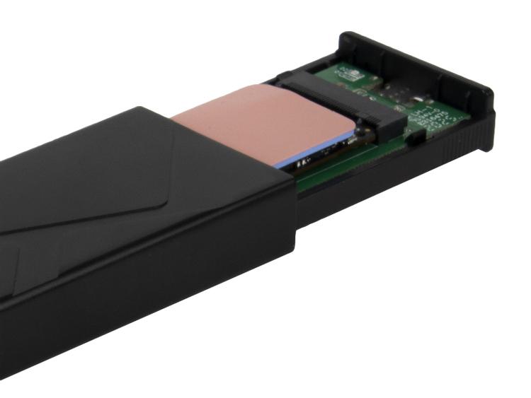 Корпус SilverStone Raven RVS03 позволяет создать быстрый внешний накопитель на основе модуля М.2