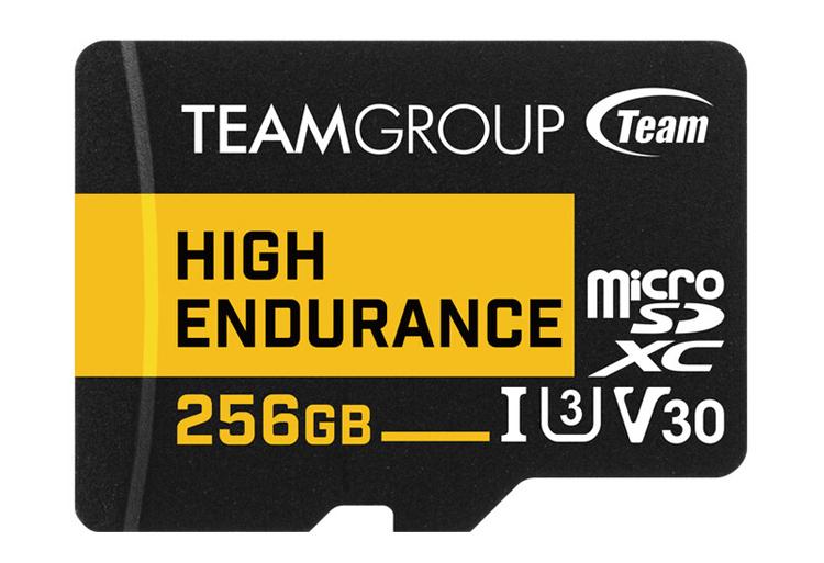 TeamGroup представила карты памяти High Endurance с увеличенным ресурсом для систем видеонаблюдения
