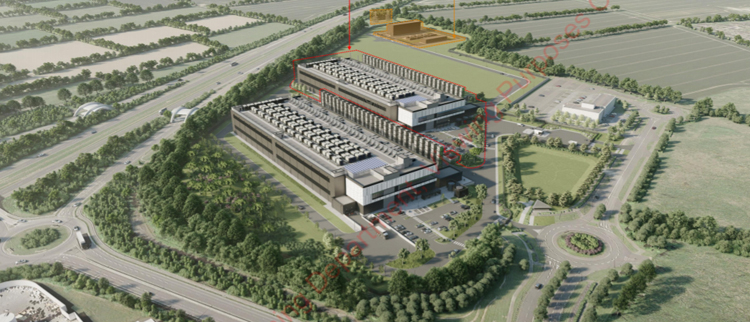Площадка Amazon Drogheda / datacenterdynamics.com