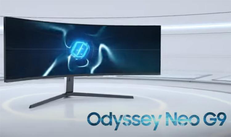 Samsung скоро выпустит Odyssey Neo G9— первый игровой монитор на панели Mini-LED