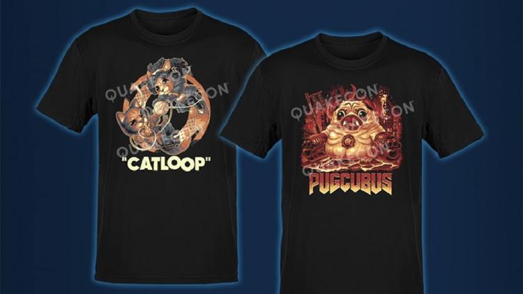 В рамках QuakeCon 2021 можно будет купить эксклюзивные футболки в поддержку приютов для животных