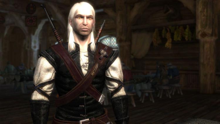 Геральт в первой The Witcher, источник изображения: PC Gamer
