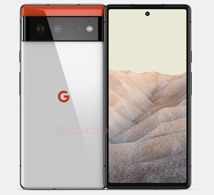 Раскрыты характеристики камер и дисплеев смартфонов Google Pixel 6 и Pixel 6 Pro