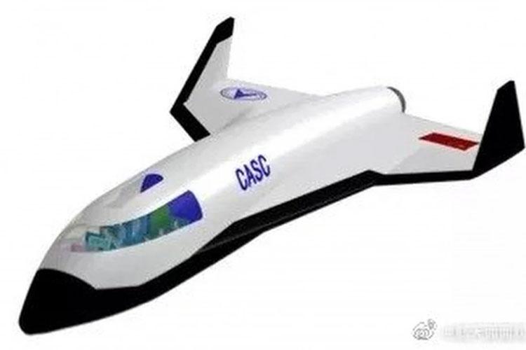 Китайский космосамолёт в представлении художника. Источник изображения: SCMP