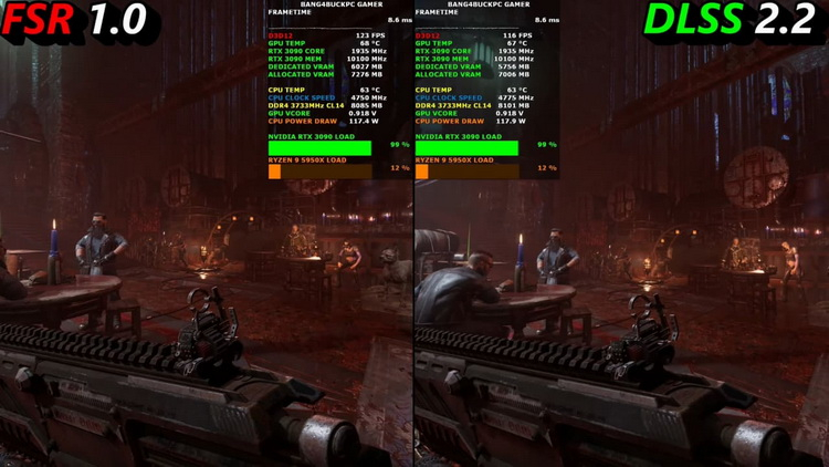 NVIDIA DLSS and AMD FidelityFX Super Resolution were compared in games - it's not so clear yet