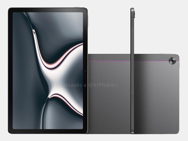 Первый планшет Realme предстал на качественных рендерах