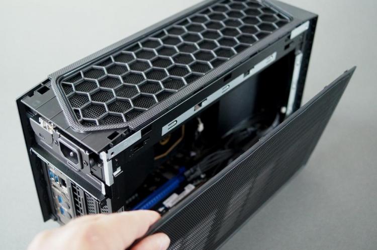 Первое вскрытие компактного игрового компьютера Intel NUC 11 Extreme Beast Canyon— всё очень плотно5
