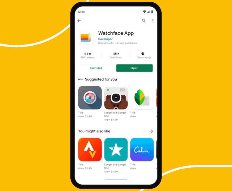 Google упростит поиск приложений для Wear OS в магазине Play Маркет