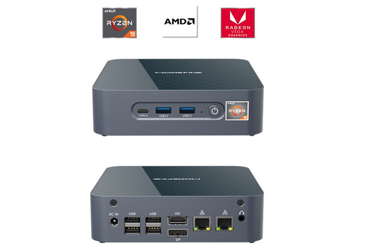 Анонсирован первый мини-ПК на флагманском процессоре AMD Ryzen 9 5900HX1