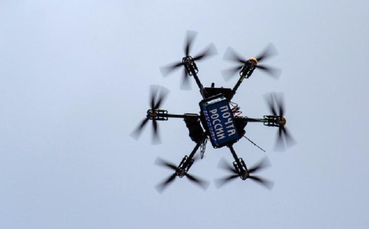 «Почта России» будет использовать дроны для доставки посылок на Чукотке и в других регионах
