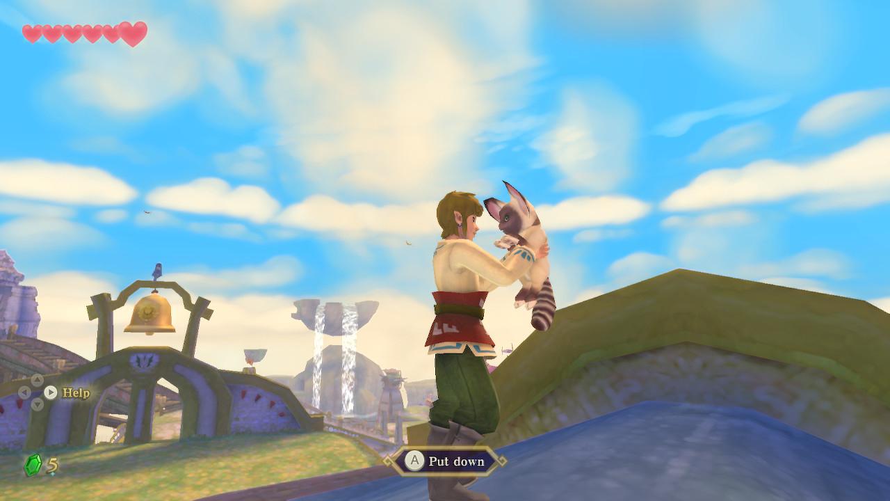 The Legend of Zelda: Skyward Sword HD  когда всеми силами пытаешься исправить. Рецензия