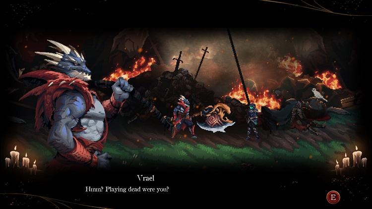 В Death's Gambit: Afterlife также слегка расширили вступление (источник изображения: Steam)