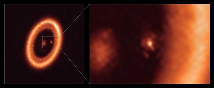 Здесь и ниже изображения ESO