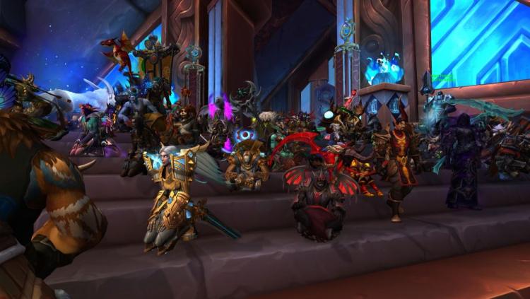 Протесты в World of Warcraft, источник изображения: PC Gamer