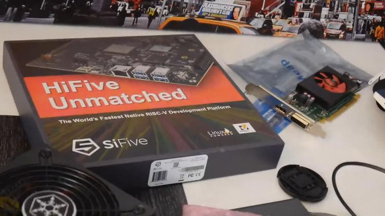 Энтузиаст впервые заставил вместе работать процессор на RISC-V и видеокарту Radeon RX 6700 XT