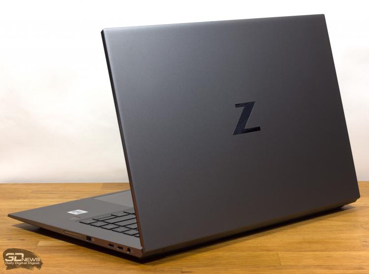Обзор лэптопа HP ZBook Studio G7 (1J3W1EA): рабочая станция в корпусе ультрабука