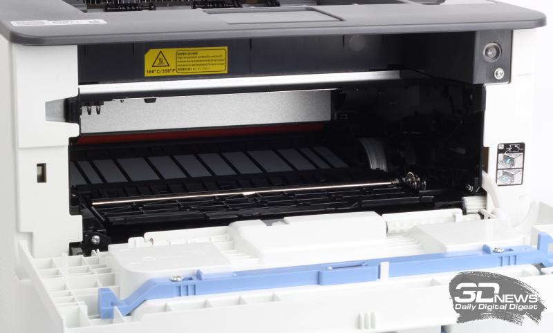 Принтер с картриджем и без него