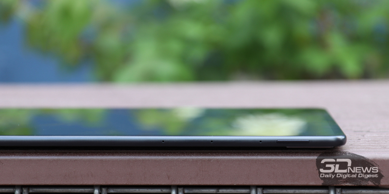 Huawei MatePad Pro 12.6 (2021), три микрофона и клавиша регулировки громкости